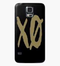 XO Slash [Gold] Case/Skin for Samsung Galaxy