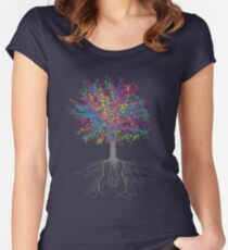 It Grows on Trees - Color Fitted Scoop T-Shirt