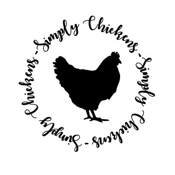 Simply Chickens (design one) by theberrysweet