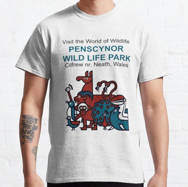 Penscynor Bird Gardens Stickers T Shirts and Hoodies Classic T-Shirt