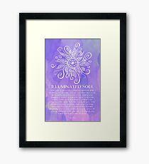Illuminated Soul Framed Print