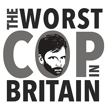 Alec Hardy - The Worst Cop in Britain by jabberdashery