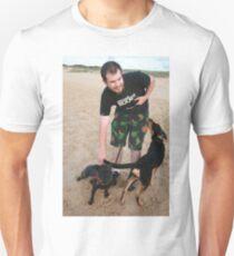 10. Chris with his English Staffy T-Shirt