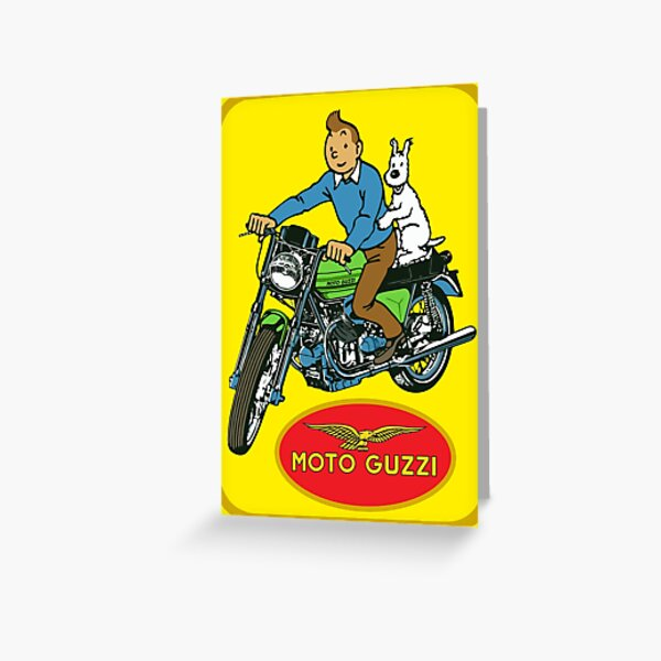 MOTO GUZZI Greeting Card