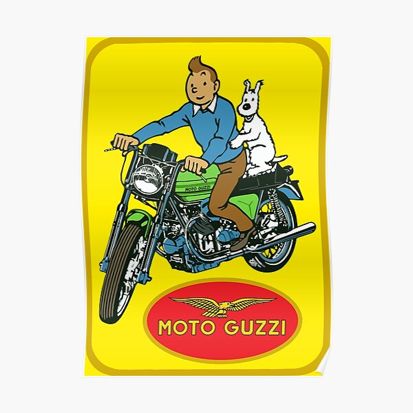 MOTO GUZZI Poster