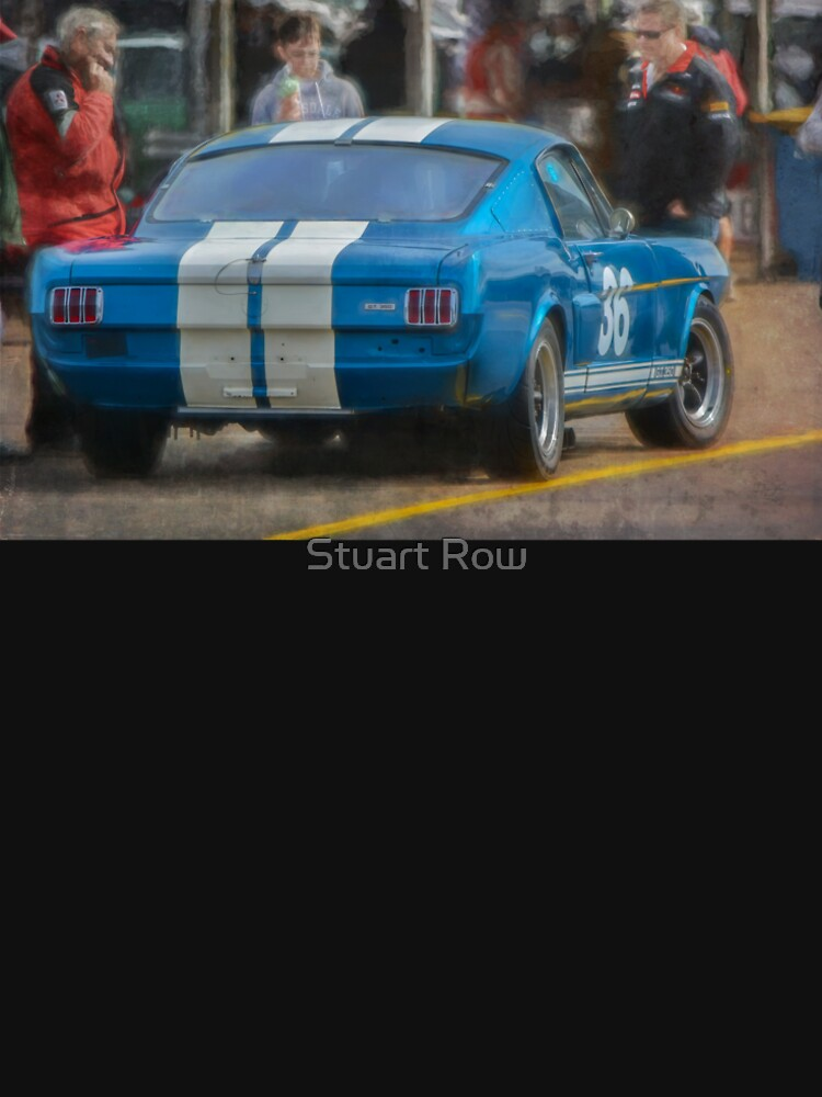 Blue Shelby GT350 Mustang by StuartRow