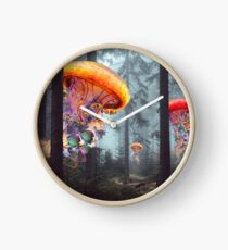Forest of Jellyfish Worlds Clock