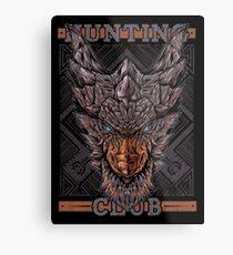 Hunting Club: Kushala Metal Print