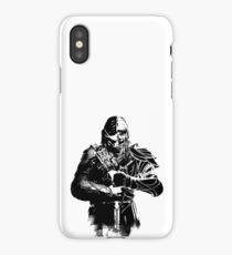 shadow of mordor iPhone Case