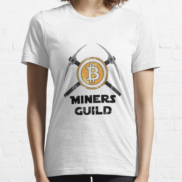 Bitcoin Miners Guild Essential T-Shirt