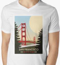 San Francisco Men's V-Neck T-Shirt