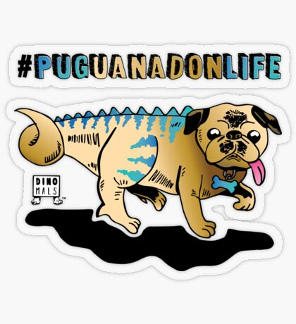 Puguanadon Life Transparent Sticker