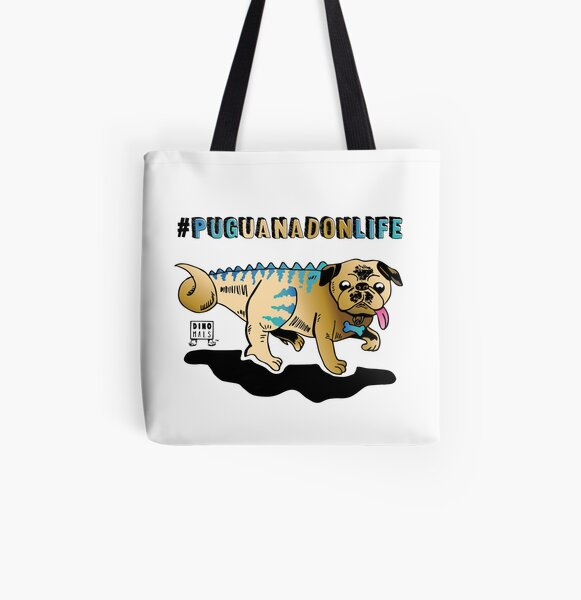 Puguanadon Life All Over Print Tote Bag