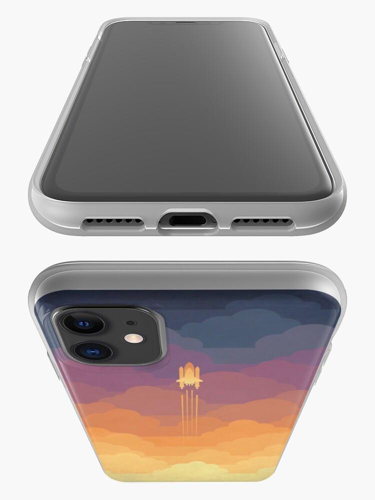 Alternative Ansicht von Wolken iPhone-Hülle & Cover