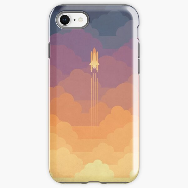 Clouds iPhone Tough Case