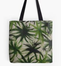 Obscure leaves. Tote Bag