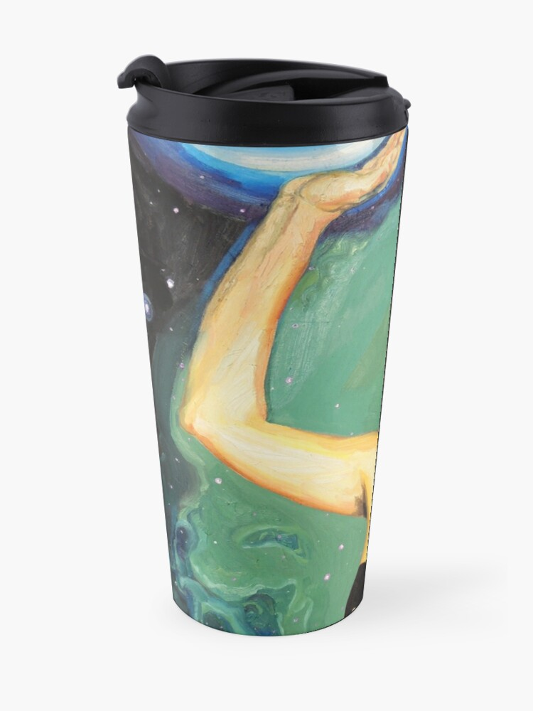 Alternate view of When A.I. Sucks Your Mind But You Send It Back Travel Mug