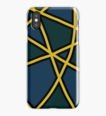 Abstract design iPhone Case