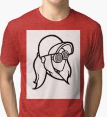 rezz logo official Tri-blend T-Shirt