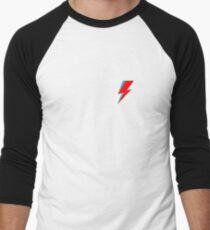David Bowie Lighting Bolt Baseball ¾ Sleeve T-Shirt