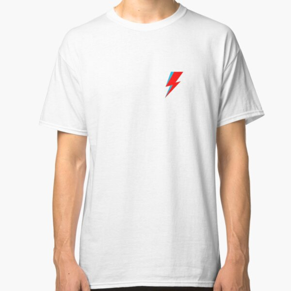 David Bowie Lighting Bolt Classic T-Shirt