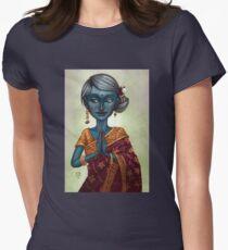 Shiva Priestess Women's Fitted T-Shirt