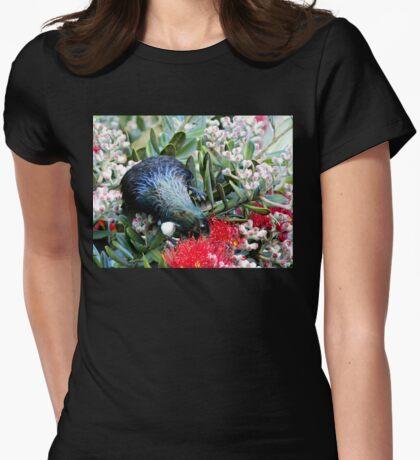 Delights From Nature - Tūī - Pohutukawa Tree - NZ T-Shirt