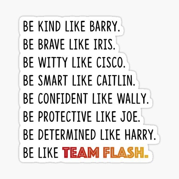 Team Flash Sticker