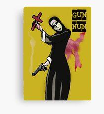 GUN NUN COVER Canvas Print