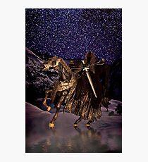 Night Rider Photographic Print