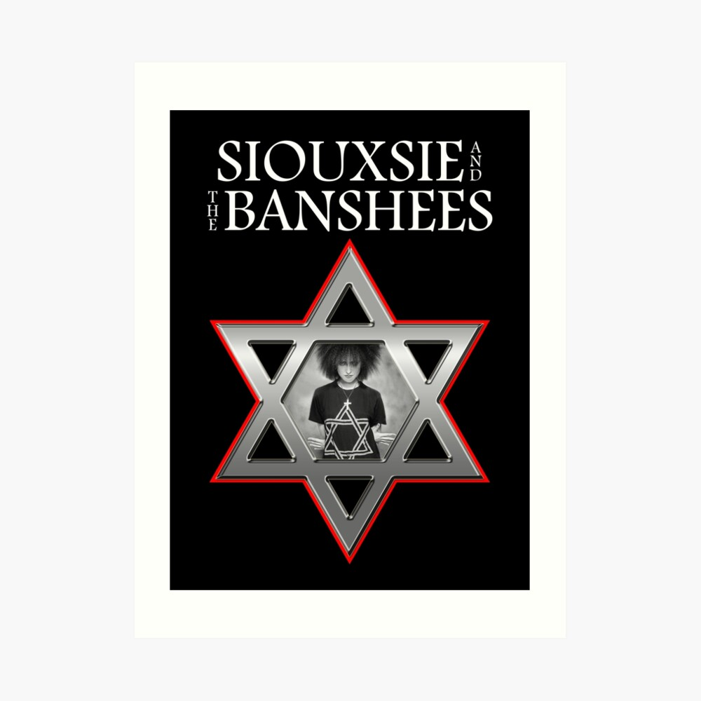 Siouxsie and the Banshees - Israel  Art Print
