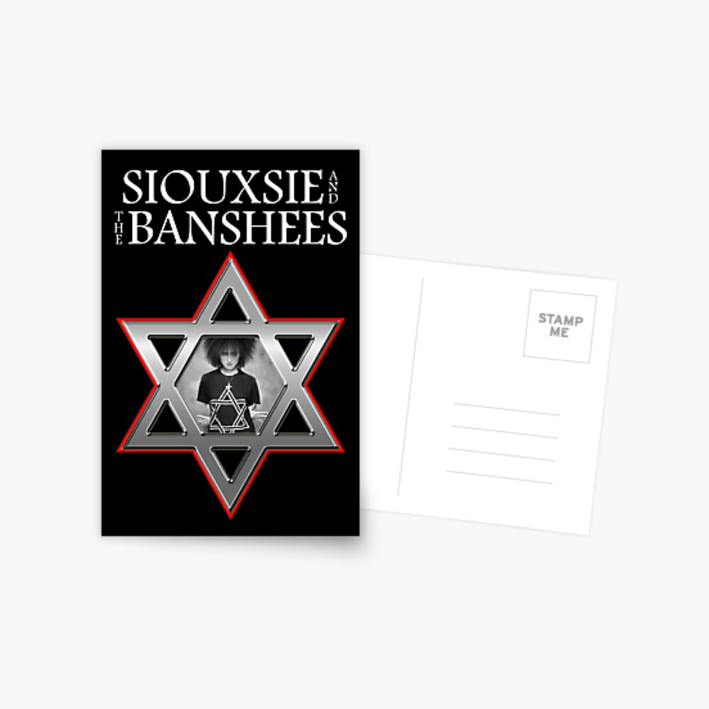 Siouxsie and the Banshees - Israel  Postcard