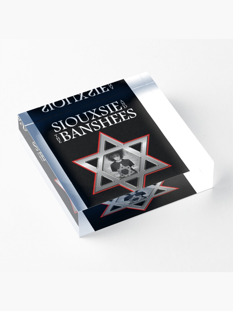 Alternate view of Siouxsie and the Banshees - Israel  Acrylic Block