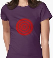 Mandala 33 Colour Me Red Womens Fitted T-Shirt