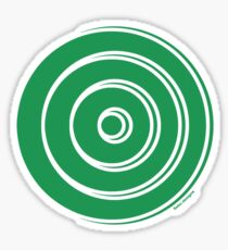 Mandala 33 Green With Envy  Sticker