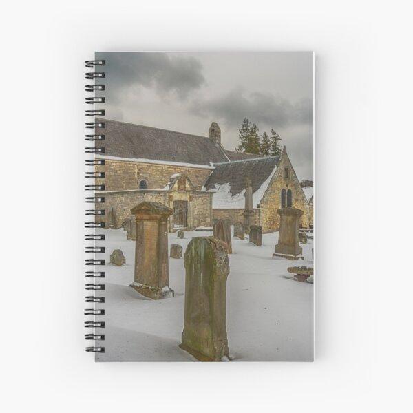 Abercorn Church in the Snow Spiral Notebook