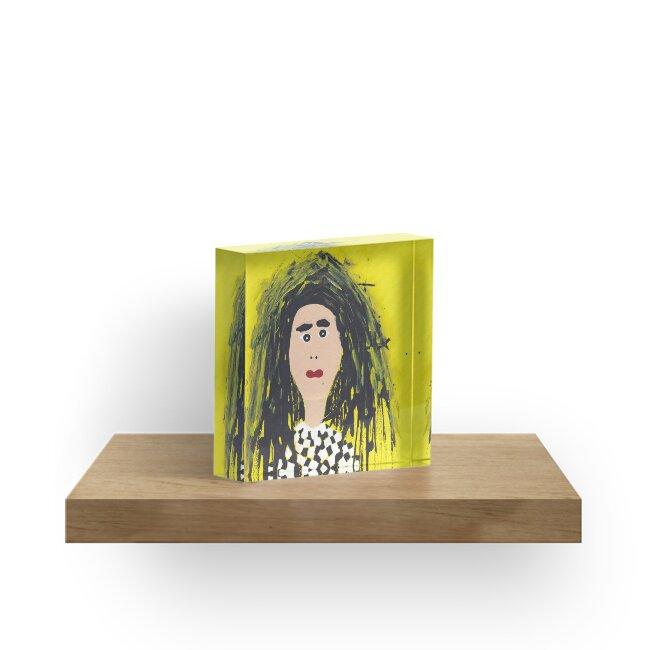 « Mary - Martin Boisvert - Faces à flaques » par Martin Boisvert