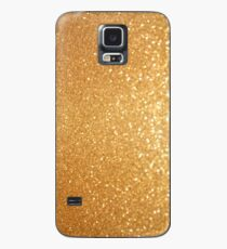 iPhone and Samsung Galaxy Cellphone Cases & Skins Abstract Solid Gold Luxe Glitter Design Case/Skin for Samsung Galaxy