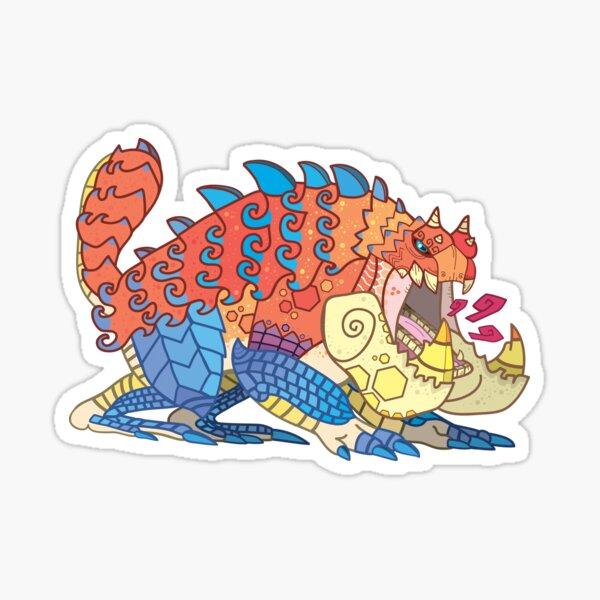 Tetsucabra - The Demon Frog Sticker