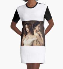 Jessica & Krystal Graphic T-Shirt Dress