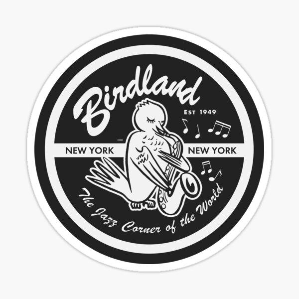 Vintage Venue: Birdland Jazz Club Sticker