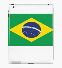 Brasil Flag Distressed National Fan Style iPad Case/Skin
