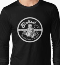 Vintage Ort: Birdland Jazz Club Langarmshirt