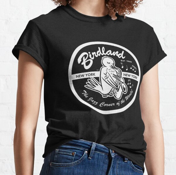 Vintage Venue: Birdland Jazz Club Classic T-Shirt