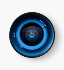 Camera lens 2 Clock