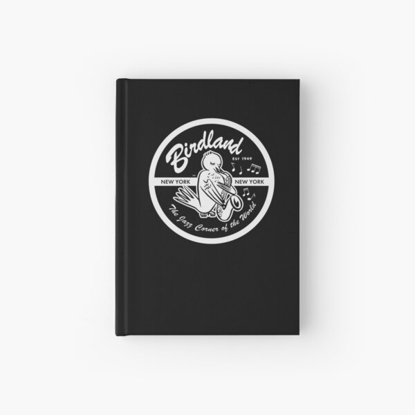 Vintage Venue: Birdland Jazz Club Hardcover Journal