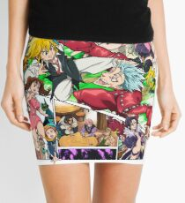The Seven Deadly Sins Mini Skirt