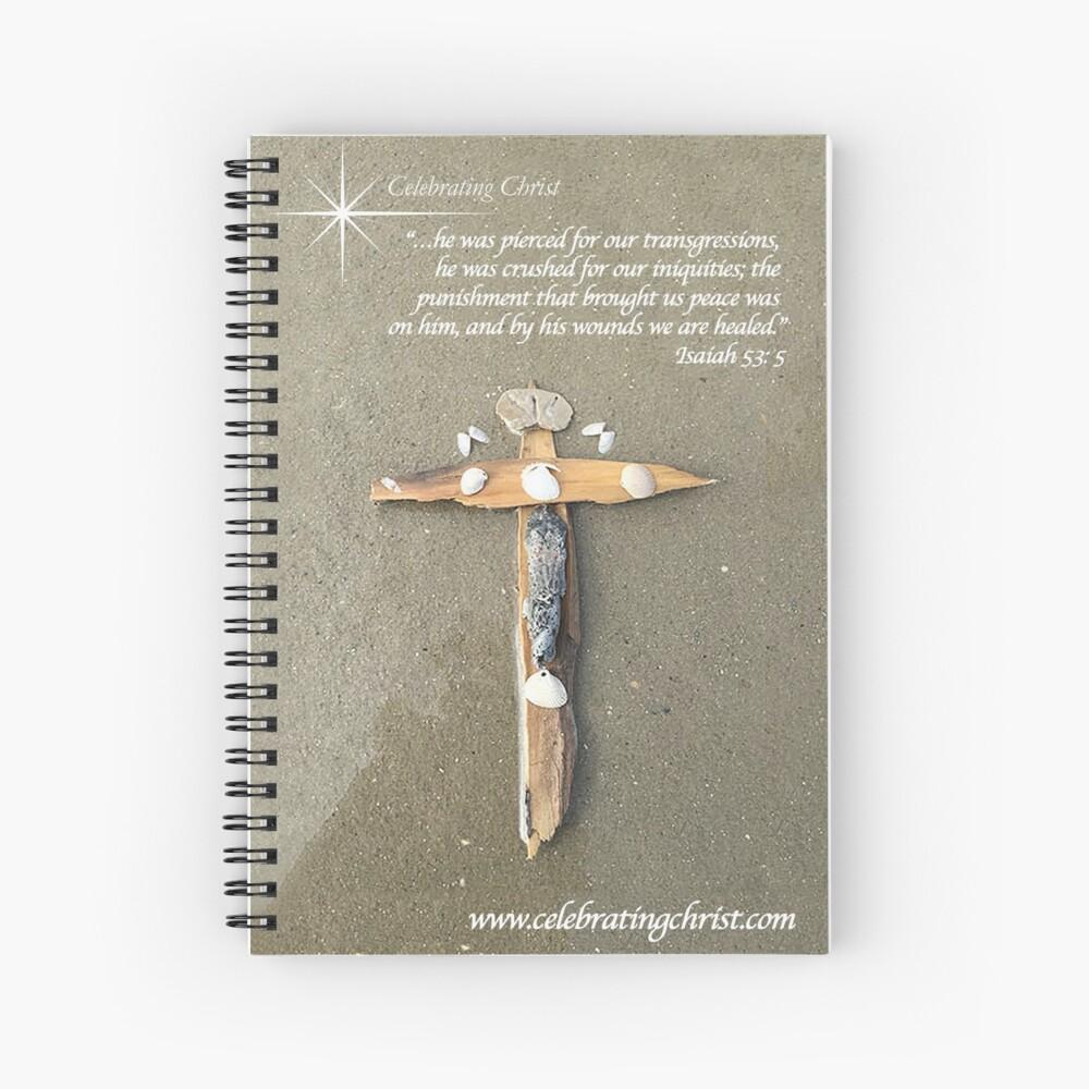 Celebrating Christ Cross - From ccnow.info Spiral Notebook