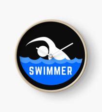 Design Day 66 - Swimmer - March 7, 2018 Clock