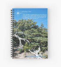 Celebrating Christ Bristlecone Pine Spiral Notebook